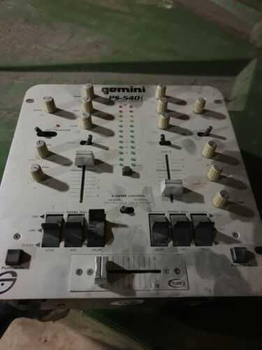 Gemini Ps-540i Mixer. Dj Stereo 2 Channel