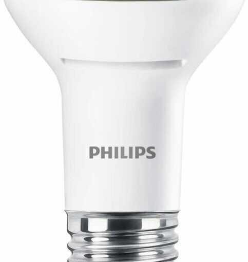 Philips LED Lustre E27 Edison Screw Reflector Light Bulb, 2.7 W (40 W) -…