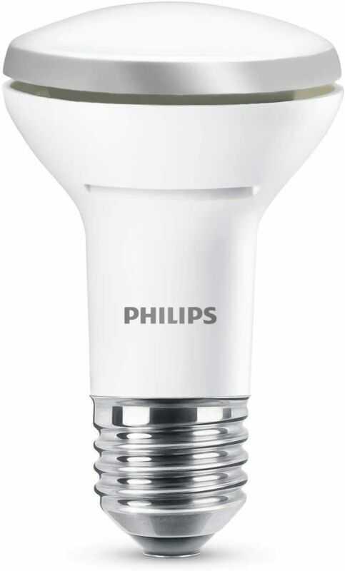 Philips LED Lustre E27 Edison Screw Reflector Light Bulb, 2.7 W (40 W) -...