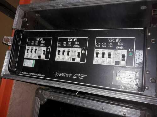 Stage Lighting 32 Amp 3 Phase Socapex Distro