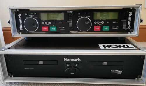 Numark CDN-22 MK4 Dual CD Player Flightcased