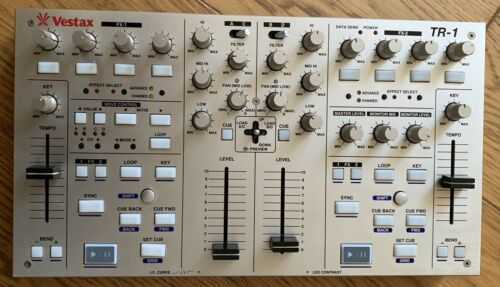 Vestax TR-1 DJ Midi Controller