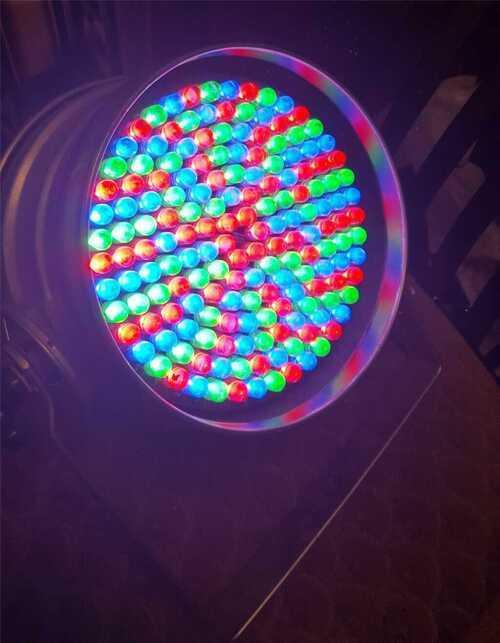 Par64 LED RGB stage Lighting DJ DMX Disco Light