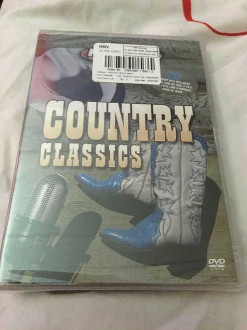 BRAND NEW SEALED Country Classics Music KARAOKE Sing a long PARTY DVD