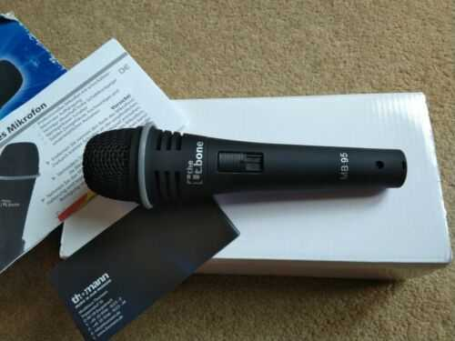 Microphone T.bone Dynamic Mic Vocals, Busking, Singing, Speach