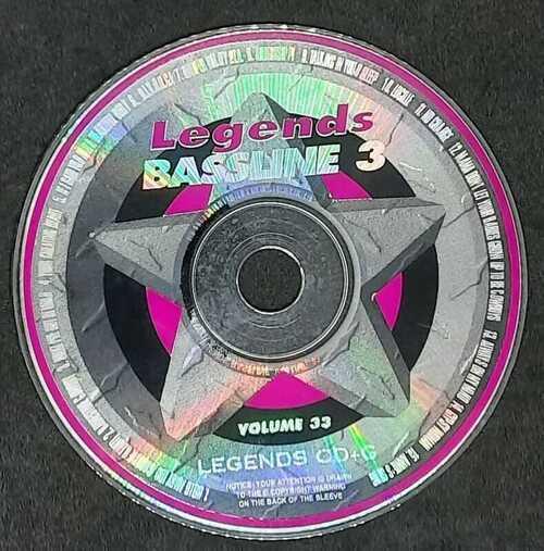 LEGENDS BASSLINE 3 - VOLUME 33 - IN CARDBOARD SLEEVE