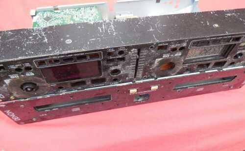 DENON DN-D4000 twin cd player spares or repair #5