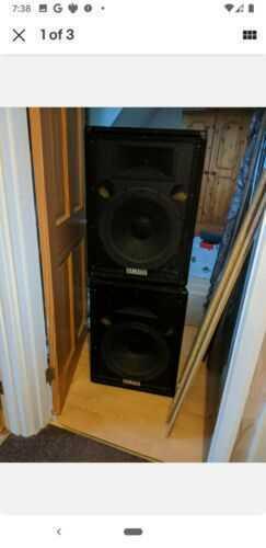 Yamaha PA S15E Speakers