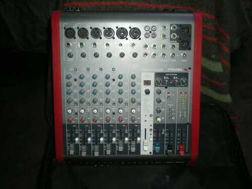 Proel M822 usb mixer deck