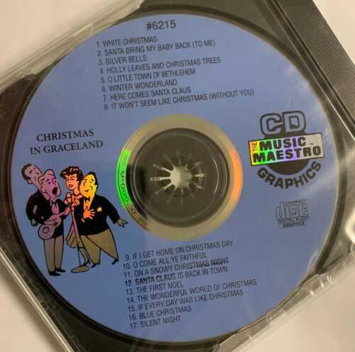 Music Maestro Christmas In Graceland - CDG Karaoke Disc #6215