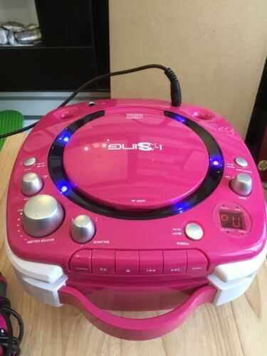 ISing  Karaoke/CD Player With Microphone