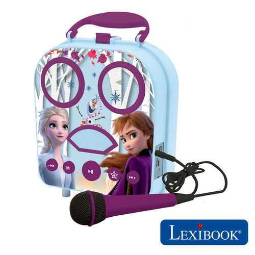 Lexibook Disney Frozen II My Secret Portable Kids Karaoke Machine - BTC050FZ